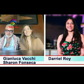 The Darriel Roy Show - Gianluca Vacchi & Sharon Fonseca Interview