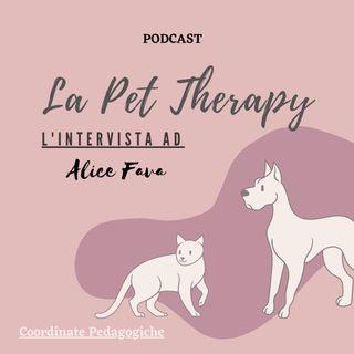 La Pet Therapy con Alice Fava