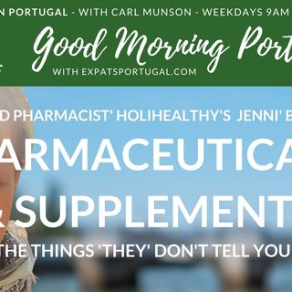 Supplements & Pharmaceuticals with 'reformed pharmacist' Jennifer Barraccu on the GMP!