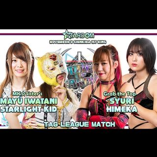 ENTHUSIASTIC REVIEWS #62: STARDOM Goddesses Of Stardom Tag League 2020 Day 7 Watch-Along
