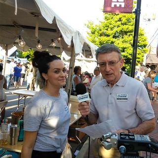 Colletta at 29th Annual Taste of Alpharetta on Georgia Podcast