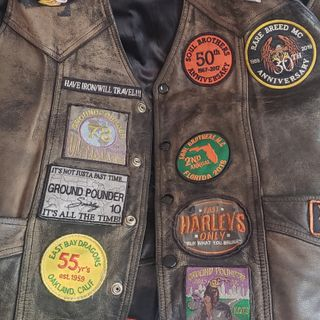 Does your vest equal your miles? And what story does your vest tell?