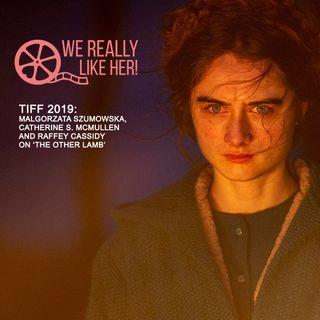 TIFF19: Raffey Cassidy & Malgorzata Szumowska & Catherine S. McMullen on 'The Other Lamb'