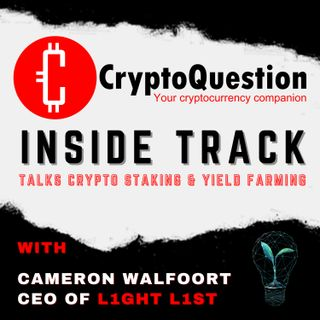 Inside Track with Cameron Walfoort CEO of L1ght L1st