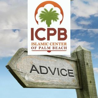 Advice to the Islamic Center of Palm Beach (ICPB)- Moosaa Richardson