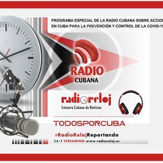 #RadioCubana Programa #TodosPorCuba dedicado a la Covid-19 (Emisión 20/3/20)