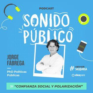 """Jorge Fábrega en """"Confianza social y polarización"""""""