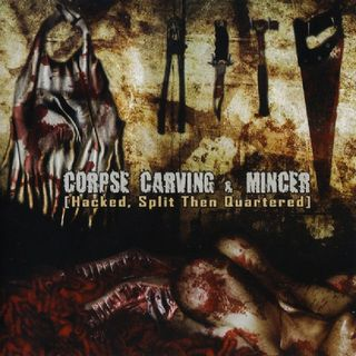 Corpse Carving ~ Served with Maggots