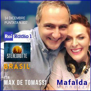Con Max de Tomassi - Brasil su RAI Radio 1- puntata 837