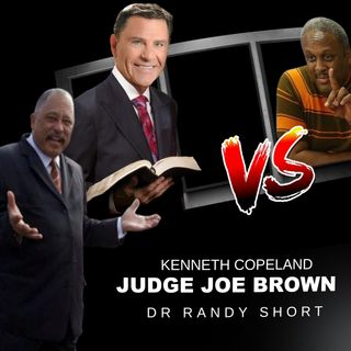 CORONA: PASTOR KENNETH COPELAND BLOWS .. JUDGE BROWN +DR SHORT RESPOND