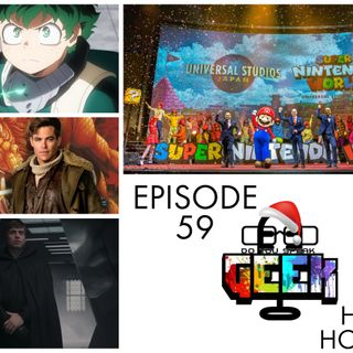 Episode 59 (The Mandalorian Season Finale, Super Nintendo World, Dungeons & Dragons, Cyberpunk 2077, and more)