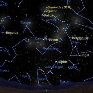 Annual Geminids Meteor Shower