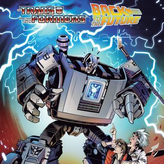 Source Material #283 - Transformers: Back to the Future (IDW, 2020)