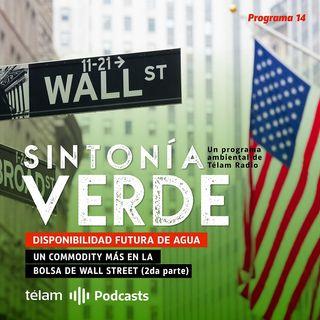 DISPONIBILIDAD FUTURA DE AGUA: UN COMMODITY MÁS EN LA BOLSA DE WALL STREET (2da Parte)