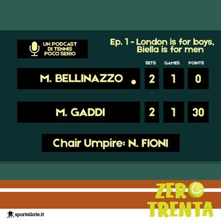 Ep.1 - Wimbledon is for boys, Biella is for men