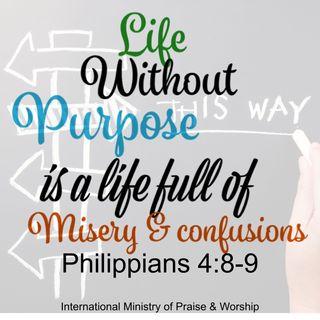 Live a purposeful life