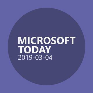 MSFT Today 2019-03-04 : Why Technology Needs Female Voices