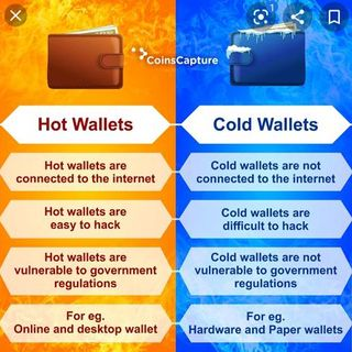 Hot Wallets vs Cold Wallets & Crypto Currency: 619-768-2945