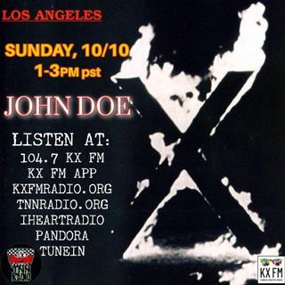 TNN RADIO | October 10, 2021 show with X and Oingo Boingo Former Members
