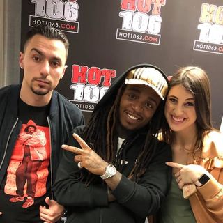 """The King of R+B"" Jacquees talks with Bekah and Mike D"