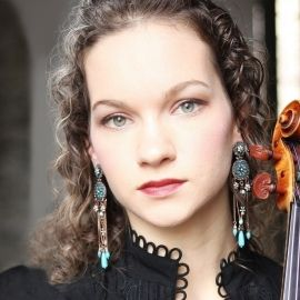 Classical Violinist Hilary Hahn