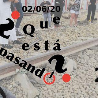 Descarila Alvia en Zamora | ¿Que esta pasando? 22 (02/06/20)