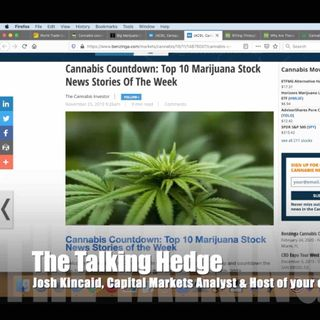 Top 10 Cannabis Stock News Stories of the Week (2019)