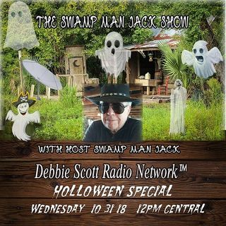 HALLOWEEN SPECIAL WITH SWAMP MAN JACK !!!  10-31-18