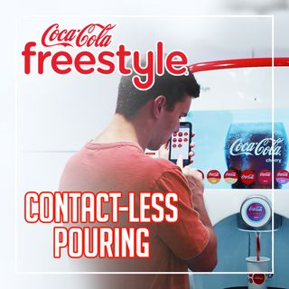 Retrofitting Coca-Cola's Freestyle Machines for Touchless Interaction