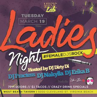 (Explicit) @djpractess's performance during 03 19 2019 #MusicLabVa #LadiesNight!