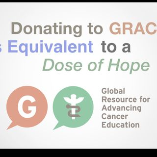 Donating to GRACE is Equivalent to a Dose of Hope