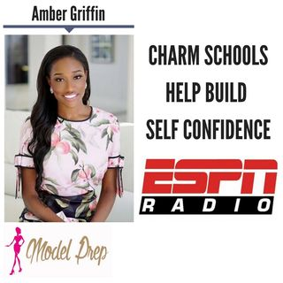 Charm Schools Help Build Self Confidence || Amber Griffin discusses LIVE (4/19/18)