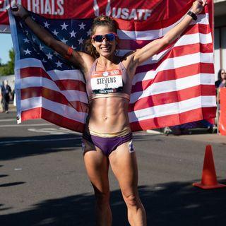 Olympic Race Walker Robyn Stevens