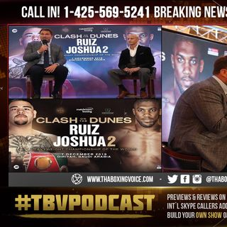 "☎️Ruiz-Joshua 2 Officially Official🔥""Andy Ruiz Has No Say He's✍🏻Signed"""