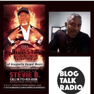 Stevie B. A Cappella Gospel Music Blast - (Episode 222)