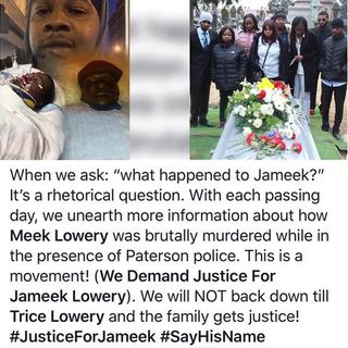Paterson City Council FAILS To Investigate The Death Of Jameek Lowery