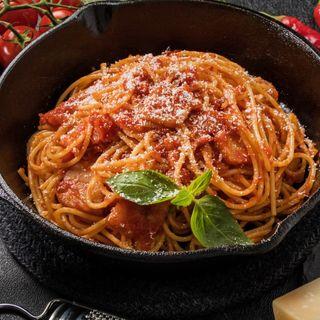 Due spaghettini all'amatricia?