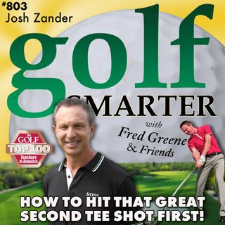 How to Hit That Great Second Tee Shot FIRST! with Josh Zander