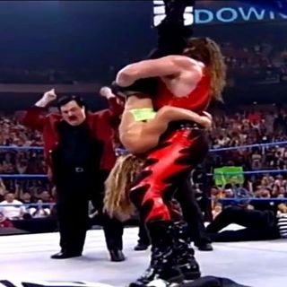 Wrestling Nostalgia: Kane Tombstones Tori - INCREDIBLE Pop