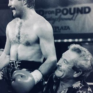 "Legends of Boxing: Guest Gene ""Mad Dog"" Hatcher Former WBA Junior Welterweight Champion"