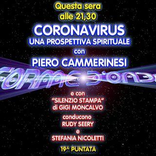 Forme d'Onda - Piero Cammerinesi - Coronavirus: una prospettiva spirituale - 19^ puntata (19/03/2020)