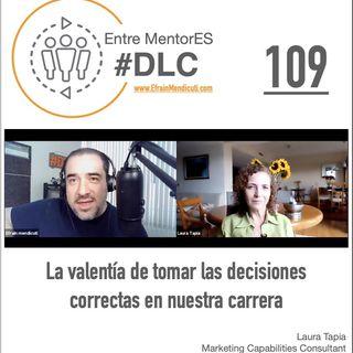 #DLC109 con Laura Tapia