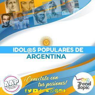 Idol@s populares de Argentina