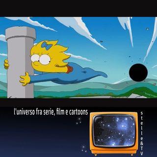 #31 Stelle&TV: piccoli buchi neri & I Simpson