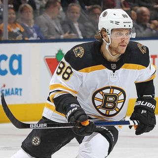 Bruins' David Pastrnak Continues Career Domination Of Maple Leafs