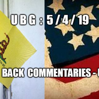 UBG : 5/4/19 - The Way Back Commentaries ~ UPG, Part  2