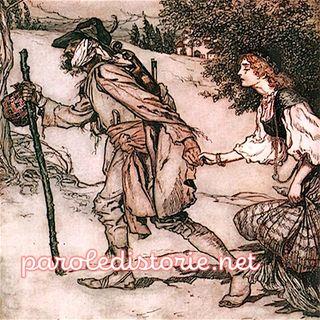 Il Re generoso, Bazza di Tordo. Una fiaba dei fratelli Grimm.