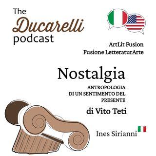 ArtLit Fusion - Nostalgia Antropologia di un Sentimento del Presente di Vito Teti - Ines Siranni