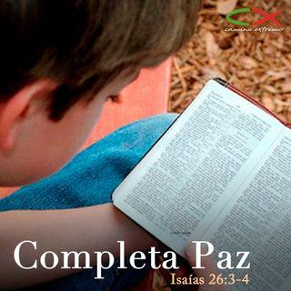 Oración 18 de marzo (Completa Paz)