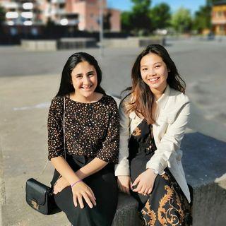 Trang och Lara driver Elevhjälpen